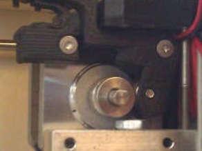 Extruder w Printed Spring Upgrade for Makerbot Replicator I 3d Printer
