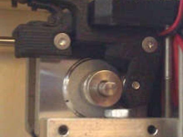 Extruder w Printed Spring Upgrade for Makerbot Replicator I 3d