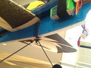 Landing Gear for HobbyKing Hummer