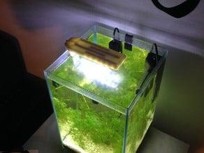 Aquarium LED light fixture