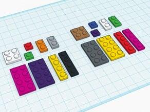 LEGO, Legos (Many Sizes)
