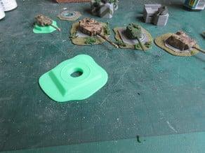 Turret Bunker for Panther or Tiger1