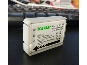 Battery case holder NP95 NP-95 DB90 DB-90 Fuji Ricoh