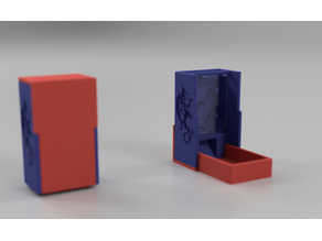 Dice Tower and Case (Plinko Style)