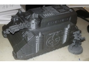 Immolator flame Turret for Sisters Transport
