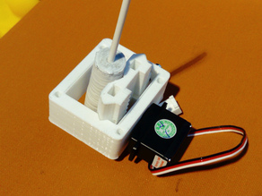 Servo-driven Z-axis for pen