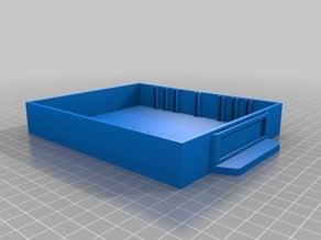 """Small Parts Organizer Bin (1"""" x 5"""" x 6"""" outer box dimensions)"""