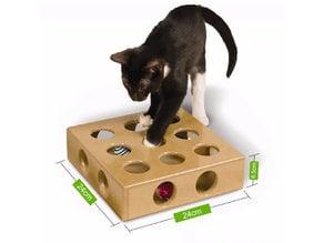 Hide & Seek cat toy :)