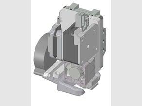 Hypercube E3D Titan Direct Drive Mount and Fan Duct