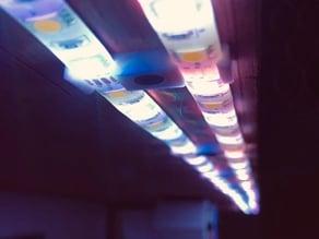Dual LED Stripe Clip