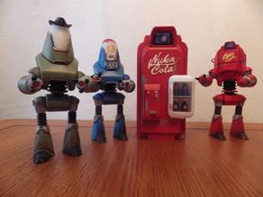 Fallout 4 - Nuka Cola Vending Machine Rescaled