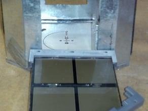 Mech Warfare target panel mounting frames