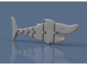 Shark-ticulator / Flexi Shark