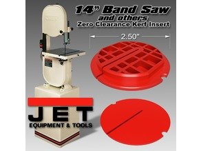 Zero Clearance Kerf Band Saw Insert