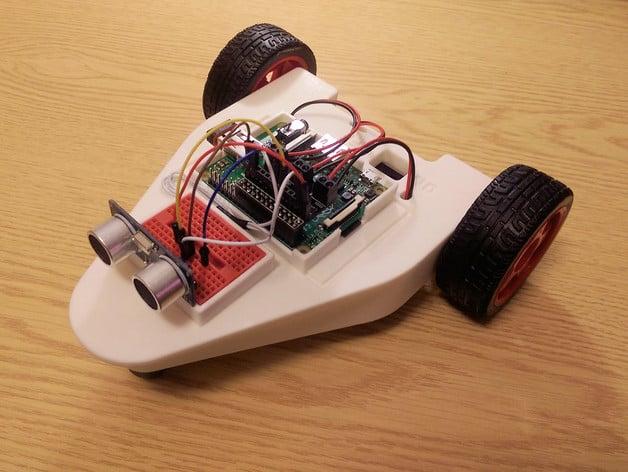 CamJam EduKit #3 Robot Chassis for the Raspberry Pi by DanielBull