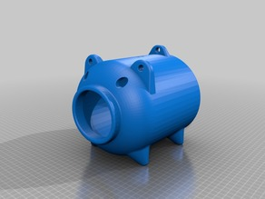 pig-shaped mosquito coil holder(Mock-up model)