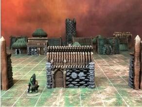 Kyn Finvara: Goblin Stone Hut (28mm/32mm scale)
