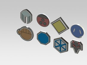 Pokemon Johto badges