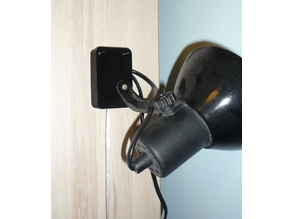 wall mounted pull switch case for lamp