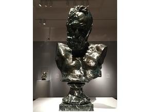 Heroic Bust of Victor Hugo, Rodin, Portland Art Museum