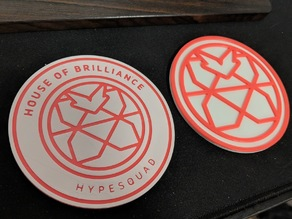 Hypesquad House of Brilliance Coaster