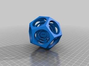 Hyper D12 Based on a Turner's Cube
