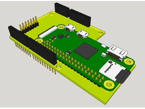 Raspberry Pi Zero HAB Shield Adapter