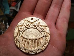 Médaillon d'or des Mystérieuses Cités d'or, The Mysterious Cities of Gold