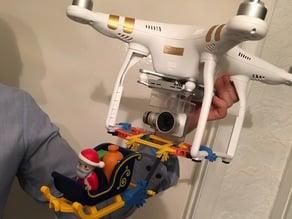 Phantom drone k'nex attachment.