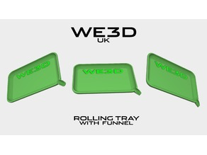 420 Rolling Tray - With Funnel