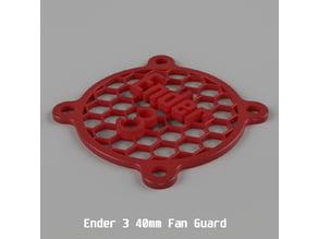 Ender 3 40mm Fan Guard