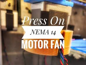 Press On NEMA 14 Motor Fan