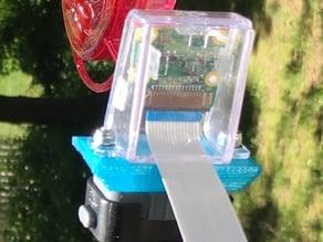 Raspberry Pi camera mount adapter