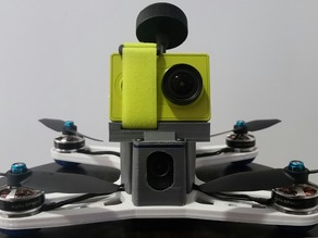 Xiaomi Yi / GoPro strap mount for the UBQ