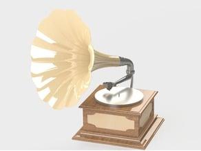 Phonograph/gramophone/grafonola replica