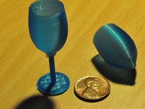 Miniature Wine Glass