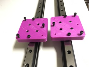 Wanhao Duplicator 9 D9 Hiwin Linear Rails Carriage upgrade V1