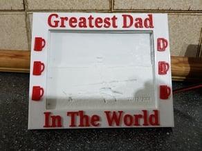 Greatest Mum & Dad Frame For My LightBox