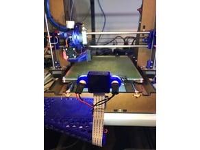 Raspberry Pi and Camera Mount for Nova Labs Prusa i3