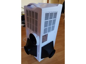 Tube adapter for mobile AC unit
