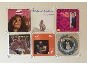 Vinyl Record Sleeve Wall Mounts/Holders