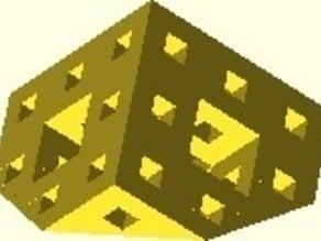 Menger sponge revisited