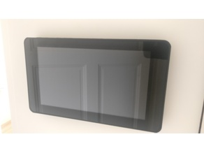 Raspberry Display 7 INCH + DHT22 Case Wall-Mount (without Raspberry)