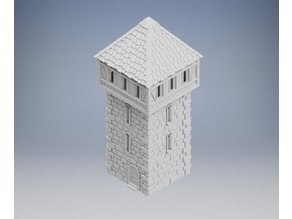 Medieval Tower Made for tabletop gaming