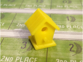 Birdhouse Game Piece (for Wingspan)