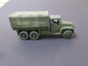 Mack No US truck WW2 1/100 scale