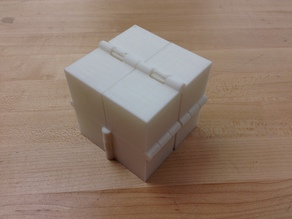 Magic Folding Cube or Eight Hinged Boxes