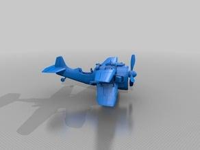 X-4 Stormwing Fortnite Plane