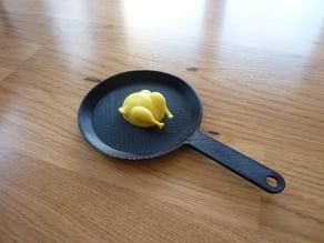 Pan & Chicken Toy