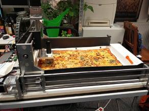 Ikea STÄM Pizza Cutter to CNC Adapter